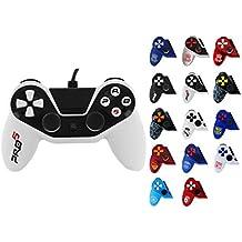 Manette pour PS4 Pro5 controller - Manette pour Playstation 4 Pro 5 Black & White  Blanche