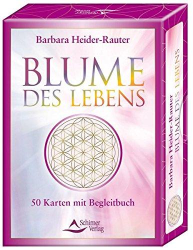 Blume des Lebens: 50 Karten mit Begleitbuch - Blumen-buch