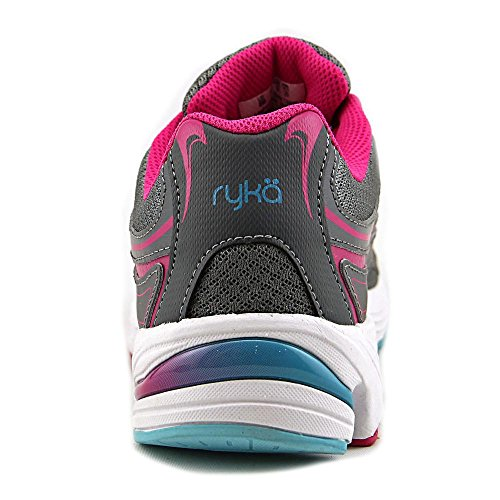 Ryka Infnite Leder Wanderschuh Grey/Pink