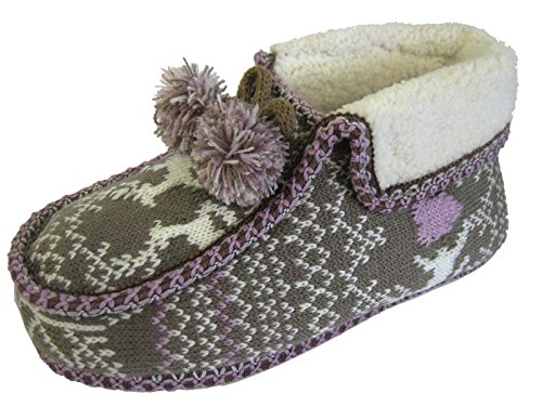 Coolers - Pantofole Donna Marrone