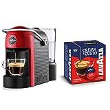 Lavazza Caffè Jolie + 64 Capsule Crema e Gusto, 1250 W, 0.6 Litri, Rossa