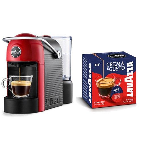 Lavazza A Modo Mio, Macchina Caffé Espresso Jolie Con 64 Capsule Crema e Gusto Incluse, Macchinetta A Capsule Per Un… 168
