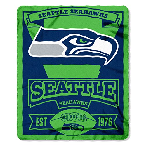 Northwest Seattle Seahawks Marque Fleece NFL Decke Test