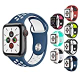 ATETION Compatible con Apple Watch Correa 38mm...