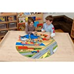 Rail, Road & Airport Runway Playmat (Diam 88cm)