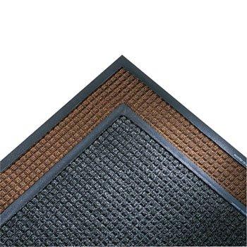 super-soaker-wiper-mat-w-gripper-bottom-polypropyl-34-x-119-dark-brown-sold-as-1-each