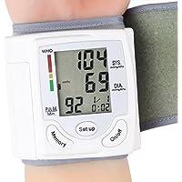 Tensiomètre Electronique au Poignet écran LCD numérique poignet Tensiomètre Compteur Heart Beat 90 Lecture Mémoire