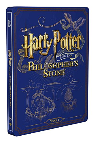 Harry Potter E La Pietra Filosofale (Ltd Steelbook) [Italia] [Blu-ray] 51vB3 2Ba7f3L