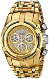 Invicta Reserve Women's Chronograph Quartz Watch with Stainless Steel Gold Plated Bracelet - 15275