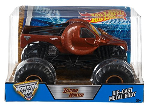 Hot Wheels DHY71 Monster Jam Zombie Hunter Ram Truck, 1:24 by Hot Wheels