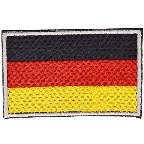 Flaggen-Aufkleber mit Klettverschluss, konnte an der Kleidung Sticked, Weste, Hut, Rucksack Direkt, 5 Länder zu wählen