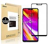 Vigeer LG G7 ThinQ Pellicole protettive, [1 Pack] [0,3mm, 2,5D] [Senza bolle] [Durezza 9H] [Facilità di installazione] [HD Clear] Protezione dello schermo in vetro temprato per LG G7 ThinQ