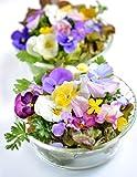 La variedad de plantas con flores comestibles es una manera fácil y agradable de agregar color y sabor a sus platos. Las flores comestibles dulces y aromáticas se vuelven cada vez más populares en la cocina. Son perfectos para aumentar el lad...