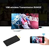 Mbuynow - Dongle, WLAN, HDMI, TV, Wireless, Receiver, Adapter, Full HD, 1080p, AirPlay, DLNA, Miracast, für iPhone, Android, SmartPhone, PC, Tablet, HDTV, Monitor, Projektor