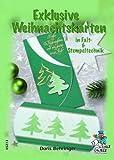 Exklusive Weihnachtskarten in Falt- & Stempeltechnik