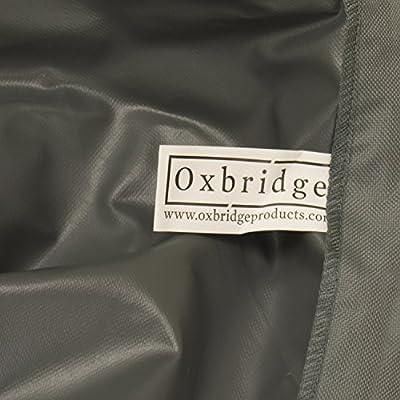 Oxbridge - Abdeckplane für Zweisitzer-Gartenbänke - wasserdicht - grau - 1,20 m (4 ft) - 5 Jahre Garantie von Oxbridge - Gartenmöbel von Du und Dein Garten