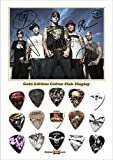 Avenged Sevenfold Gold Guitar Médiator Pick Display (Limited to 50)