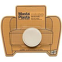 MASTAPLASTA pegatinas parche de reparación para agujeros, Reach y las manchas en sofás, bolsas, asientos de coche piel y chaquetas marfil 50 mm diseño de círculos