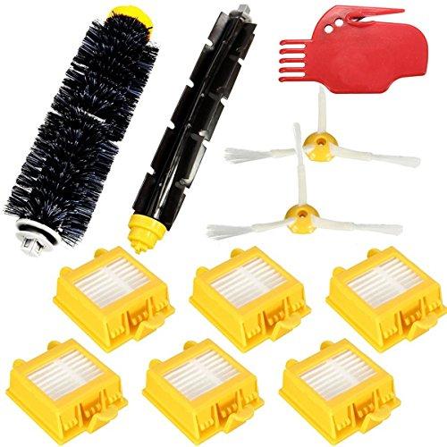 Preisvergleich Produktbild PhilMat 11pcs Staubsaugerfiltern Brush Pack Kit für iRobot Roomba 700 Serie 760 770 780 790