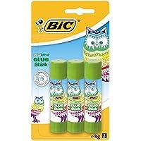 BIC 9356931 Klebestift ECOlutions, lösungsmittelfrei, 3 Stück
