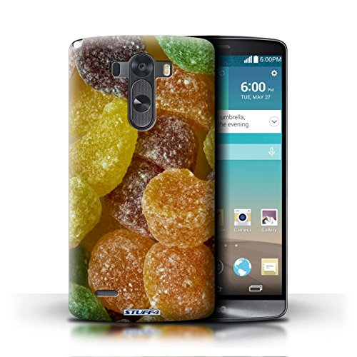 Kobalt® Imprimé Etui / Coque pour LG G3/D850/D855 / Minstrels conception / Série Bonbons Fruit Pastilles