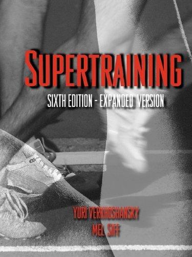 Supertraining by Yuri V Verkhoshansky (2009-12-07)