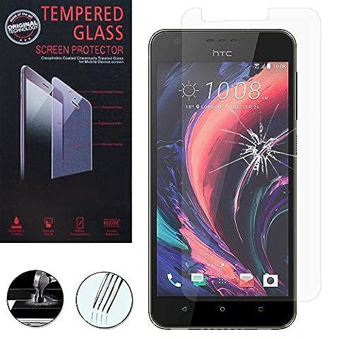 HCN PHONE® 1 Film Verre Trempé de protection d'écran pour HTC Desire 10 Lifestyle 5.5