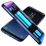 Conie TC35273 Twilight Case Kompatibel mit Samsung Galaxy S8, Farbwechsel Hülle Effekt Handycover Rückschale Case Schutzhülle rutschfest Kantenschutz Mehrfarbig Violett