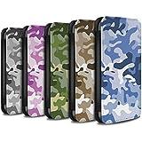Stuff4 Coque/Etui/Housse Cuir PU Case/Cover pour HTC Desire 530 / Multipack Design / Armée/Camouflage Collection