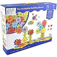 Newin Star 71 Stück Gang Mechanische Baustein Set Kinder Getriebetechnik BAU-Spielzeug-Set Lernspielzeug Fördert STEM für Kinder