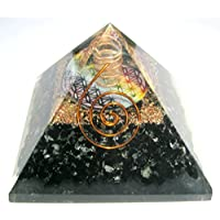 Leistungsstark 181Gramm schwarz Turmalin Blume des Lebens Orgonite Pyramide Crystal Healing metaphysisch Edelstein... preisvergleich bei billige-tabletten.eu