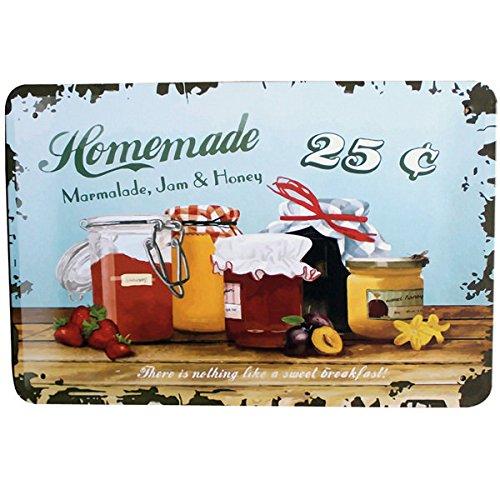 Retro Homemade Marmalade Jam Hon...