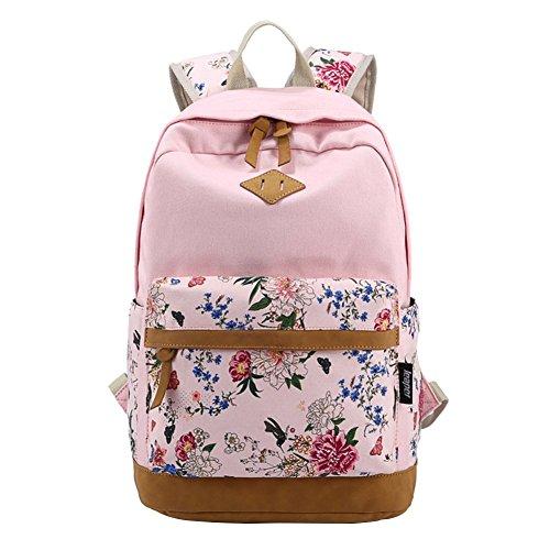 moollyfox-las-ninas-lona-mochila-floral-del-ordenador-portatil-bolso-de-escuela-mochilas-para-estudi
