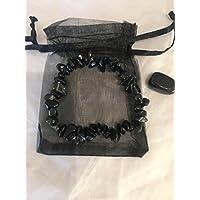Schwarz Obsidian Armband und Tumble Stone Set preisvergleich bei billige-tabletten.eu