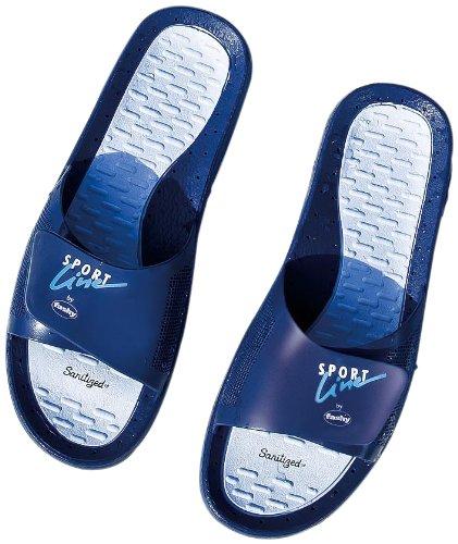 Fashy Sport Line , Sandales mixte adulte - Bleu marine/bleu clair