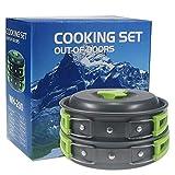Suliper Kit de Cuisine pour Camping et randonnée en Plein air Sac de Cuisine Léger,...