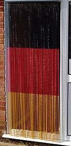 'Allemagne/Deutschland'–en aluminium de haute qualité Chaîne Store Store/écran/Moustiquaire/Chaîne d'écran/Moustiquaire/bande aveugles/Bug Blind-uk Porte Standard Taille: 80cm