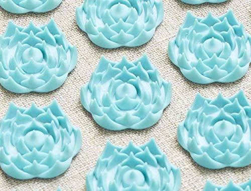Tapis de Fleurs - Soulage les douleurs de dos - Turquoise