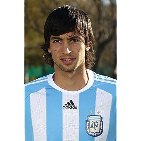 Javier Pastore (24x37 inch, 60x92 cm) Silk