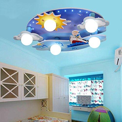 Ali d 'enfants Lumières Chambre Chambre Lumières Chambre Lampes de plafond Cartoon éclairage créatif Eye