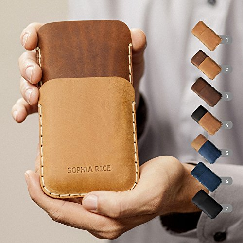 Leder Hülle für Samsung Galaxy, personalisiertes Etui - Hinzufügen Leder