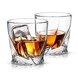 ecooe Whisky Gläser Crystal Whiskey gläser Whiskey Glas Set Whiskybecher 300ml (MEHRWEG)