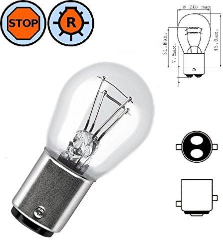 AMPOULE 6V 15W BA15S VOITURE LAMPE FEU ARRIERE STOP CLIGNOTANT ANTI-BROUILLARD ARRIERE ANCIENNE COLLECTION TRACTEUR VEHICULE AGRICOLE