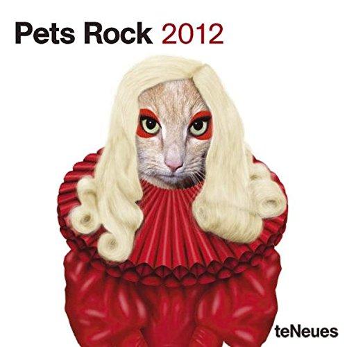 2012 Pets Rock Mini Grid Calendar