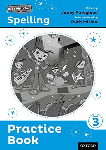 Read Write Inc. Spelling: Practice Book 3 Pack of 5