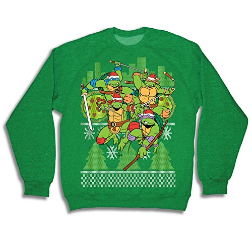 Teenage Mutant Ninja Turtles Fight Stance Green Ugly -