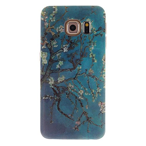 iPhone 6s Plus Custodia, Multiflora Rose Cover copertura iPhone 6S Plus 5.5, scintillio Bling Glitter Sparkles Shinny fluente, iPhone 6 Plus Case 5.5 Shock Resisitant e penna Colore-6