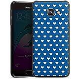 Samsung Galaxy A3 (2016) Housse Étui Protection Coque Petit c½ur Polka Motif