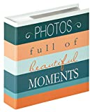 Walther design ME-338-P Memo-Einsteckalbum Moments, Design Photo, 200 Fotos, 13 x 18 cm