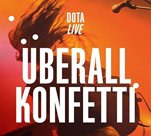 Dota: Überall Konfetti (Live) (Audio CD)